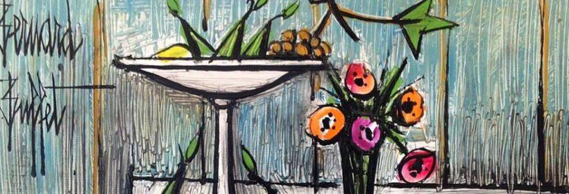 œuvre d'art signée Bernard Buffet