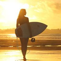 surf dans le Morbihan ou le Finistère