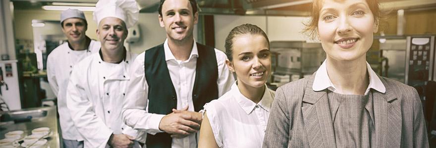 Acheter des vêtements hôtellerie et restauration