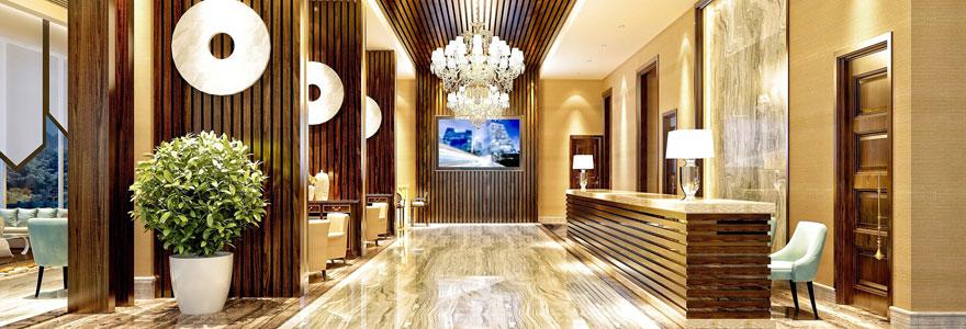 Réserver dans un hôtel de luxe