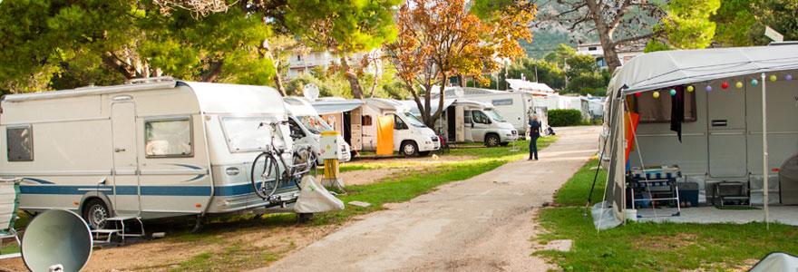 Les campings de luxe en France